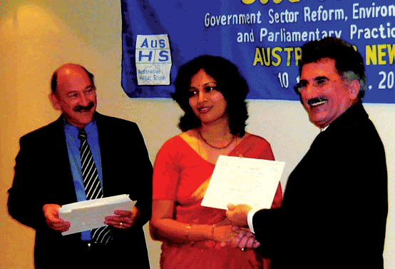 Presentation of Programme Certificate