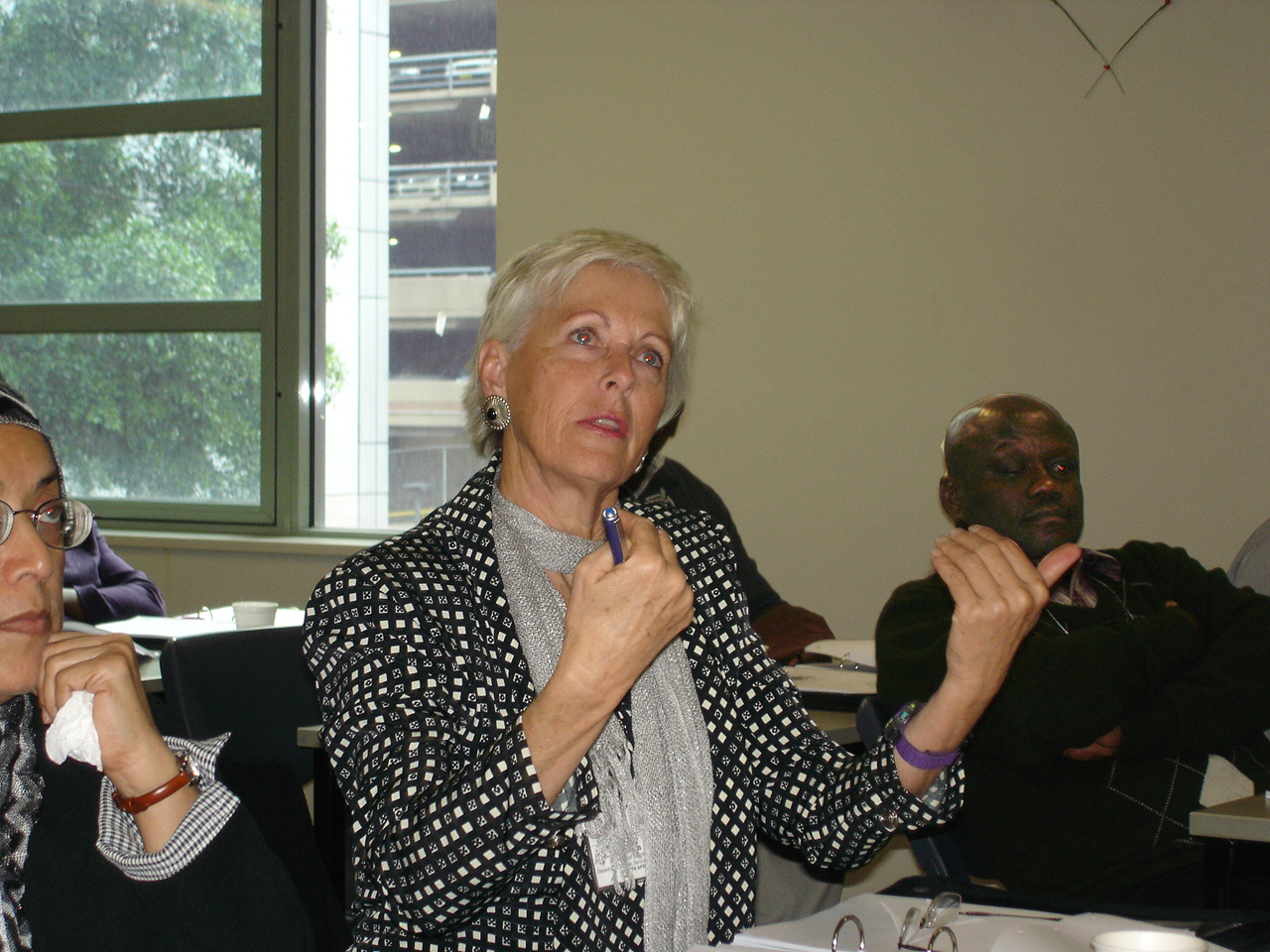 Ms. Sally Ann Rowney, Chief Director, Dept. of Public Service & Administration Pretoria, SOUTH AFRICA during an interactive session.